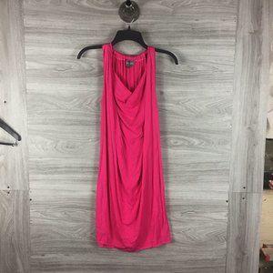 Michael Stars Pink Midi Sleeveless Dress
